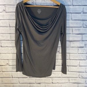 Mossimo slouchy neck blouse